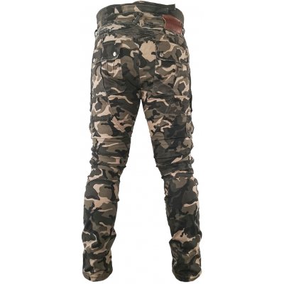 SNAP INDUSTRIES kalhoty jeans CARGO Long camo