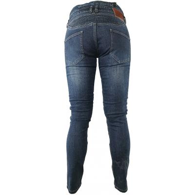 SNAP INDUSTRIES kalhoty JEANS Long dámské blue