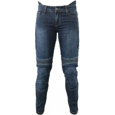 SNAP INDUSTRIES kalhoty JEANS Short dámské blue