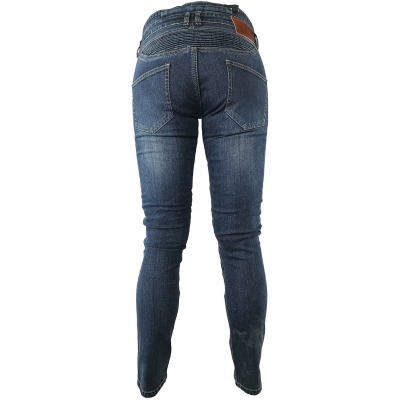 SNAP INDUSTRIES nohavice JEANS dámske blue