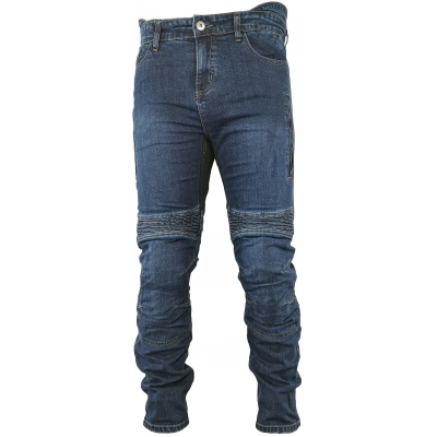 SNAP INDUSTRIES nohavice JEANS Short blue