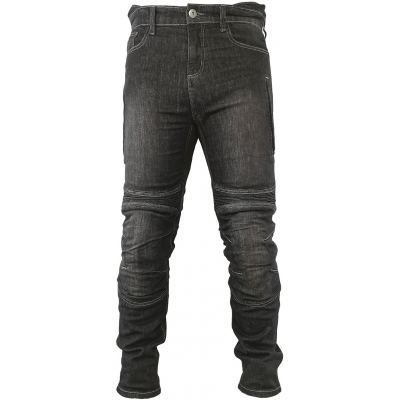 SNAP INDUSTRIES kalhoty JEANS Long black