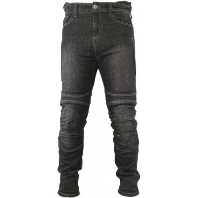 SNAP INDUSTRIES kalhoty jeans JEANS Short black