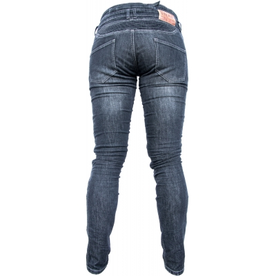 SNAP INDUSTRIES kalhoty jeans JEANS dámské black