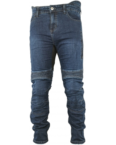 SNAP INDUSTRIES nohavice jeans JEANS Long blue