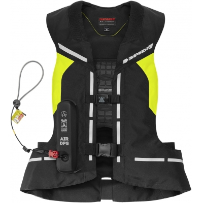 SPIDI airbagová vesta AIR DPS CE fluo yellow/black