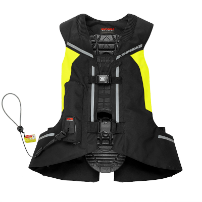 SPIDI airbagová vesta FULL DPS black/fluo yellow