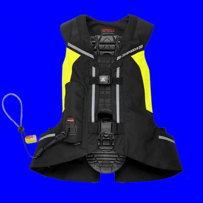 SPIDI airbagová vesta FULL DPS black/fluo yellow