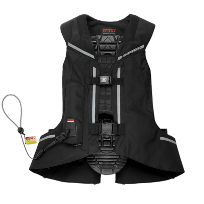 SPIDI airbagová vesta FULL DPS black