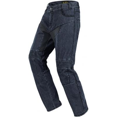 SPIDI kalhoty jean FURIOUS black blue