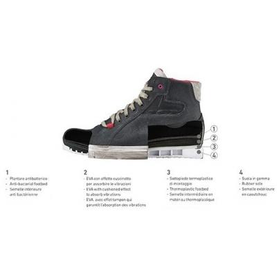 TCX topánky STREET DARK LADY WP dámske black - II. AKOSŤ