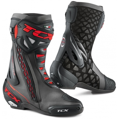 TCX boty RT-RACE black/red