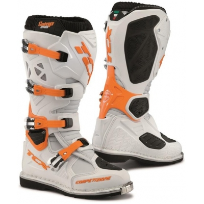 TCX boty COMP EVO white/orange