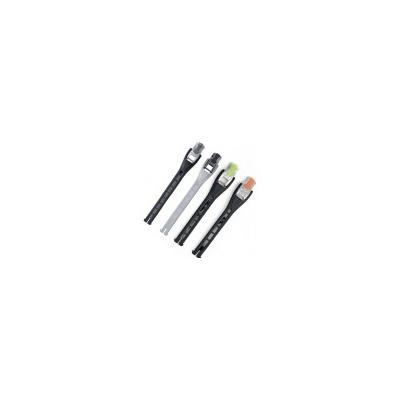 TCX pásek s ALU přezkou black 14 cm