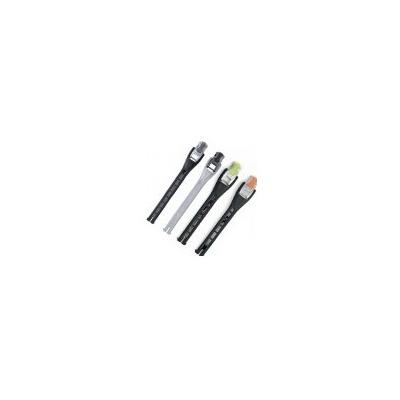 TCX pásek s ALU přezkou black 20 cm