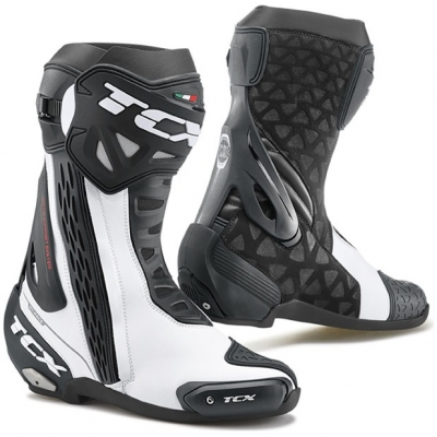 TCX boty RT-RACE white/black