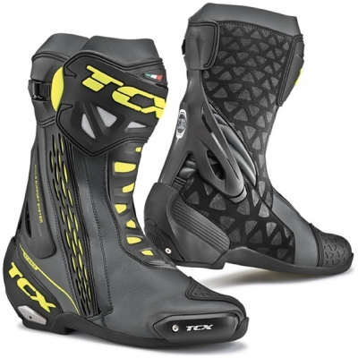 TCX boty RT-RACE black/fluo yellow