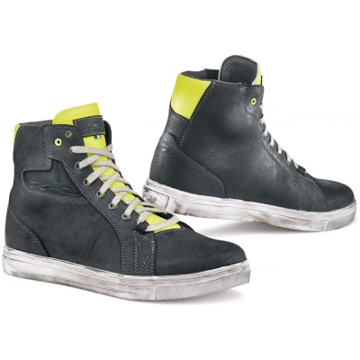 TCX boty STREET ACE light black/fluo yellow