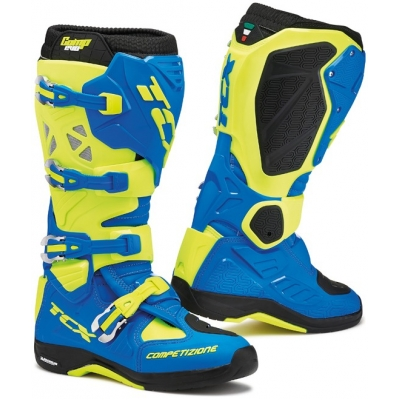 TCX boty COMP EVO MICHELIN royal blue/yellow fluo