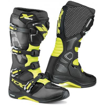 TCX topánky X-HELIUM MICHELIN black/yellow fluo