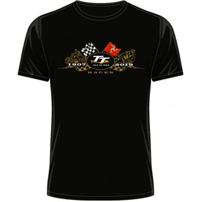TT triko TT 2019 Zlaté moto black