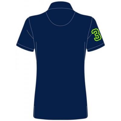 TT polo tričko TT 2017 dámske blue/green