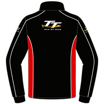 TT mikina TT 2017 Official black/red
