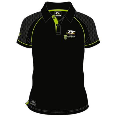TT polo triko TT 2017 Monster black/green
