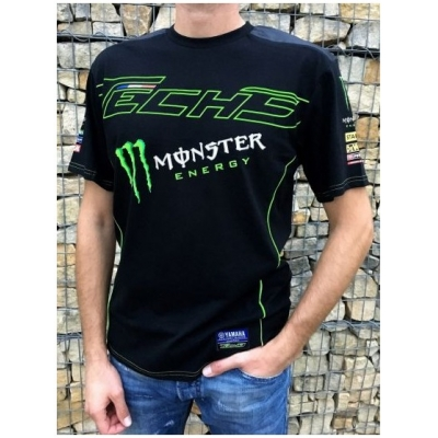 CLINTON ENTERPRISES triko TECH 3 YAMAHA MONSTER black