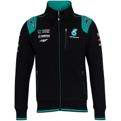 CLINTON ENTERPRISES mikina YAMAHA Petronas black/blue