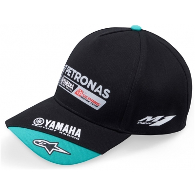 CLINTON ENTERPRISES kšiltovka YAMAHA Petronas black/blue