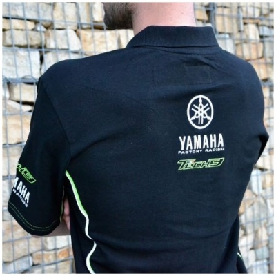 CLINTON ENTERPRISES polo tričko TECH 3 YAMAHA black