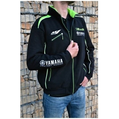 CLINTON ENTERPRISES mikina TECH 3 YAMAHA Fleece black