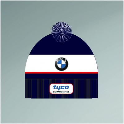 CLINTON ENTERPRISES čiapka s bambuľou TYCO BMW blue