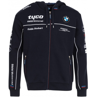 CLINTON ENTERPRISES mikina s kapucí TYCO BMW dark blue