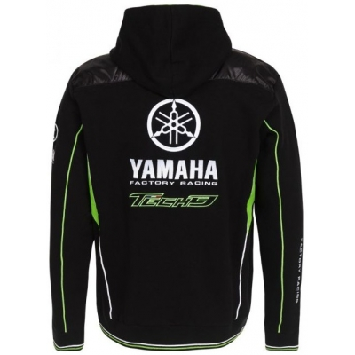 CLINTON ENTERPRISES mikina s kapucňou YAMAHA TECH 3 black