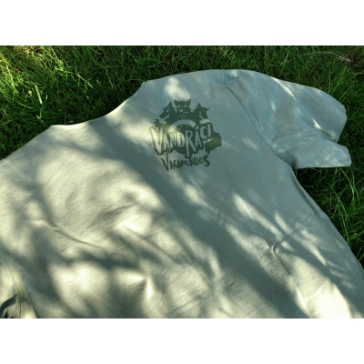 VAGAMUNDOS tričko VANDRÁCI olive