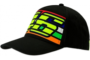 Valentino Rossi VR46 kšiltovka STRIPES black