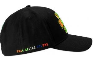 Valentino Rossi VR46 kšiltovka THE DOCTOR black