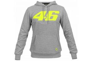 Valentino Rossi VR46 mikina s kapucí CORE grey