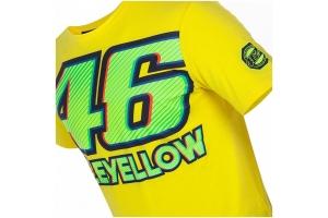 VR46 tričko 46 VALEYELLOW yellow