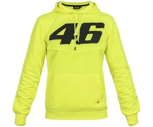 Valentino Rossi VR46 mikina s kapucí CORE yellow fluo