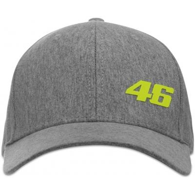 VR46 kšiltovka CORE melange grey