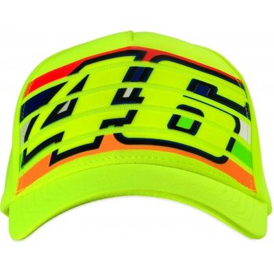 Valentino Rossi VR46 kšiltovka STRIPES fluo yellow