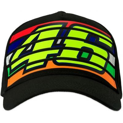 Valentino Rossi VR46 šiltovka STRIPES black