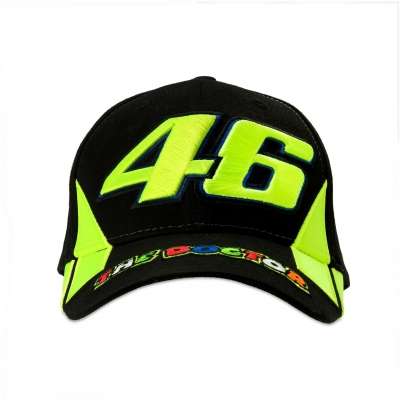 Valentino Rossi VR46 kšiltovka THE DOCTOR black
