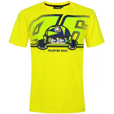 VR46 triko CUPOLINO yellow