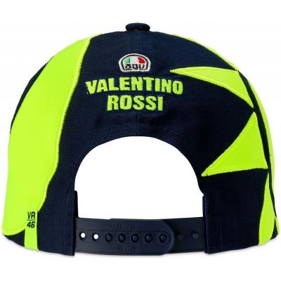 Valentino Rossi VR46 kšiltovka SUN AND MOON HELMET REPLICA dětská blue