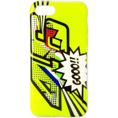 Valentino Rossi VR46 kryt POP ART iPhone 7/8 yellow