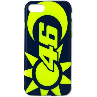 Valentino Rossi VR46 kryt SUN AND MOON iPhone 7/8 blue/yellow